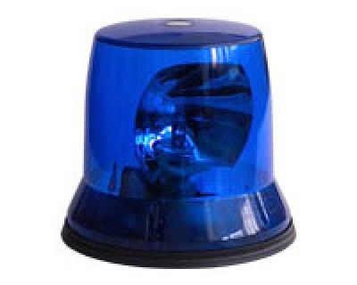Проблесковый маячок синего цвета