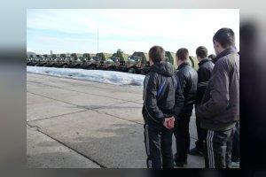 День призывника в воинской части