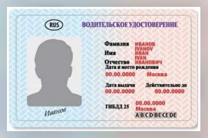 Водительское удостоверение — нюансы законодательства