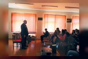 Встреча в Центральной библиотеке Полярные Зори