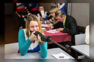 Соревнования курсантов школы «Мужество» по стрельбе